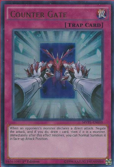 Counter Gate - MVP1-EN010 - Ultra Rare - 1st Edition