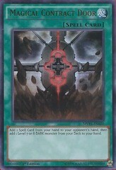 Magical Contract Door - MVP1-EN020 - Ultra Rare - 1st Edition
