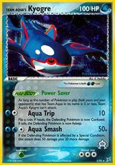 Team Aqua's Kyogre - 3/95 - Holo Rare