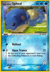 Team Aqua's Spheal - 57/95 - Common