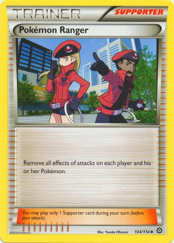 Pokemon Ranger - 104/114 - Uncommon