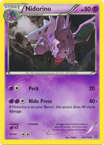 Nidorino - 44/114 - Uncommon