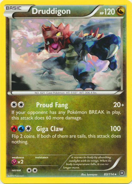 4 X POKEMON XY STEAM SIEGE CARD DEWOTT 31//114