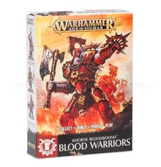 Khorne Bloodbound Easy to Build - Blood Warriors ( 71-03-N )