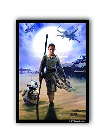 Star Wars Limited Edition Card Sleeves - Rey - 50ct