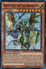 Master Peace, the True Dracoslayer - TDIL-EN020 - Ultra Rare - 1st Edition
