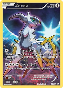 Arceus - XY116 - Mythical Collection Promo