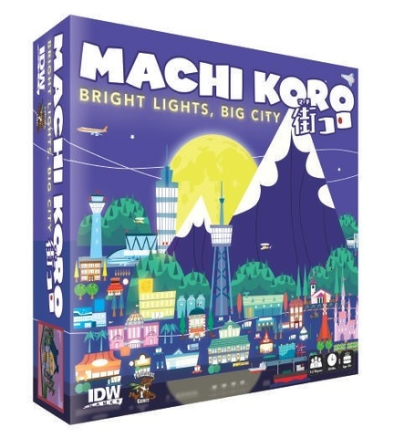 Machi Koro - Bright Lights Big City