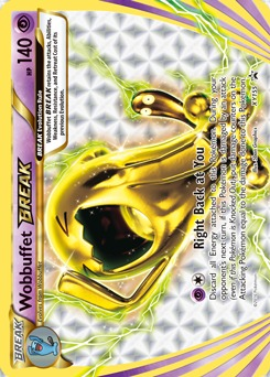 Wobbuffet BREAK - XY155 - Promo