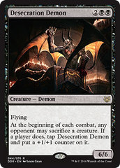 Desecration Demon on Channel Fireball