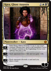 Kaya, Ghost Assassin (Alternate Art) - Foil (CN2)