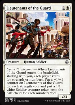Lieutenants of the Guard - Foil
