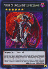 Number 24: Dragulas the Vampiric Dragon - DRL3-EN022 - Secret Rare on Channel Fireball