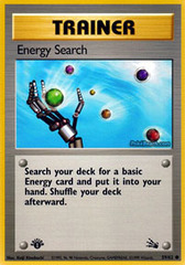 Energy Search - 59/62 - Common - 1st Edition on Channel Fireball