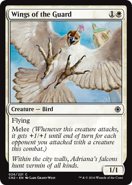 Wings of the Guard - Foil