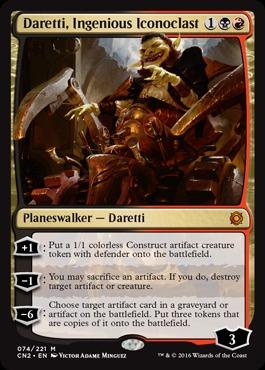 Daretti, Ingenious Iconoclast - Foil