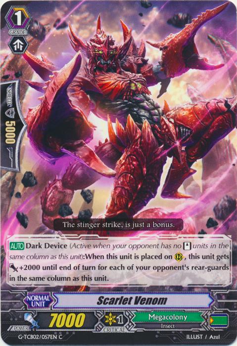 Scarlet Venom - G-TCB02/057EN - C