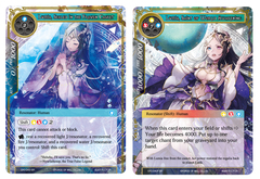 Lumia, Sealed in the Frozen Casket // Lumia, Saint of World Awakening - CFC-043 - SR - Foil