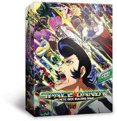 Space Dandy - Galactic Deck-Building Game