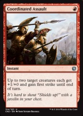 Coordinated Assault - Foil
