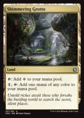 Shimmering Grotto - Foil on Channel Fireball