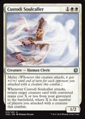 Custodi Soulcaller - Foil on Channel Fireball