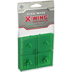 Star Wars X-Wing - Green Bases and Pegs
