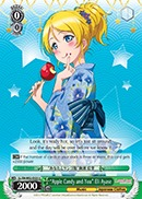Apple Candy and You Eli Ayase - LL/EN-W02-E020 - U