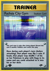 Fuchsia City Gym - 114/132 - Uncommon - 1st Edition