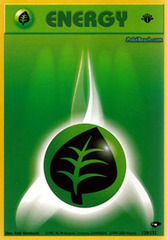 Grass Energy - 129/132 - Common - 1st Edition