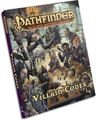 Pathfinder RPG: Villain Codex