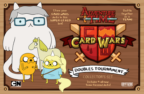 Adventure Time - Card Wars - Doubles Tournament Game