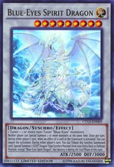 Blue-Eyes Spirit Dragon - CT13-EN009 - Ultra Rare - Limited Edition