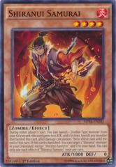 Shiranui Samurai - MP16-EN202 - Common - 1st Edition