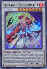 Shiranui Shogunsaga - MP16-EN212 - Ultra Rare - 1st Edition