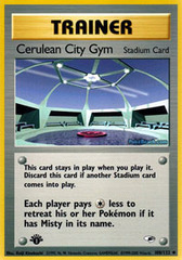 Cerulean City Gym - 108/132 - Uncommon - 1st Edition