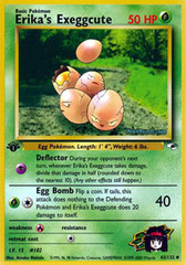 Erika's Exeggcute - 43/132 - Uncommon - 1st Edition