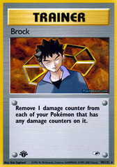 Brock - 98/132 - Rare - 1st Edition