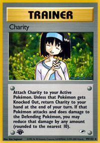 Charity - 99/132 - Rare - 1st Edition