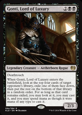 Gonti, Lord of Luxury - Foil