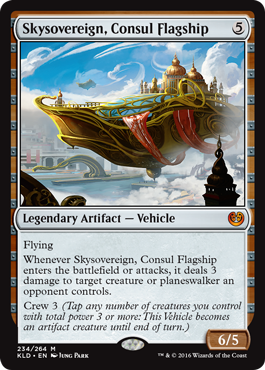 Skysovereign, Consul Flagship