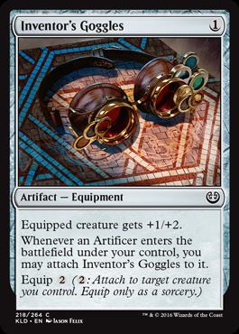 Inventors Goggles - Foil