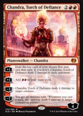 Chandra, Torch of Defiance on Channel Fireball