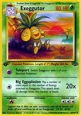 Exeggutor - 35/64 - Uncommon - 1st Edition on Channel Fireball