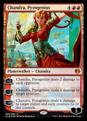 Chandra, Pyrogenius - Foil - Planeswalker Deck Exclusive
