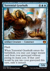 Torrential Gearhulk on Channel Fireball