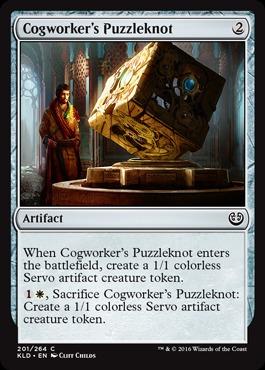 Cogworkers Puzzleknot - Foil