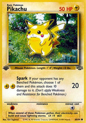 Pikachu - 60/64 - Common - 1st Edition
