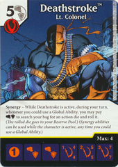 Deathstroke - Lt Colonel (Die & Card Combo)