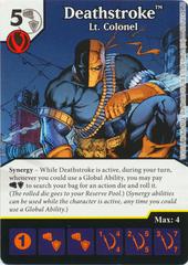 Deathstroke - Lt Colonel (Die & Card Combo)